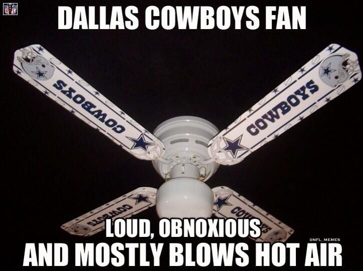 Dallas Cowboy fans lol