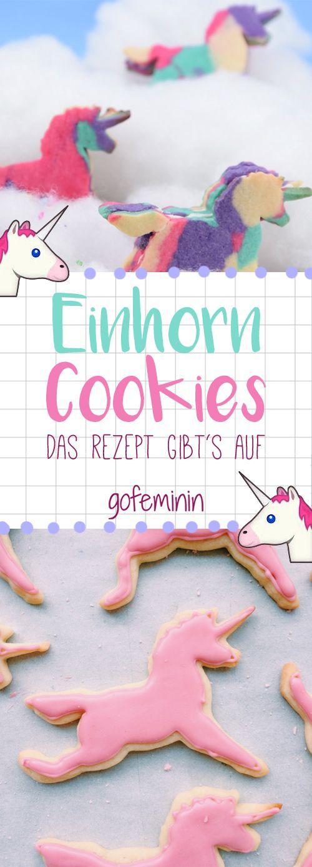 Das Rezept für die Einhorn Cookies gibts im Video auf gofeminin.de