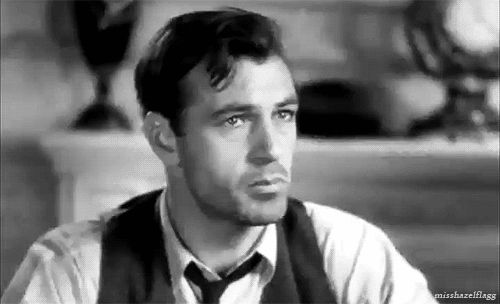 Gary Cooper in Mr. Deeds Goes to Town | 23 Classic Hollywood GIFs That Are Better Than A Time Machine