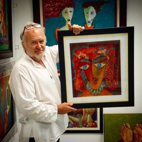 Own a Laubar painting. .....
