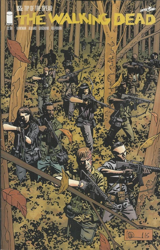 The Walking Dead comic issue 155