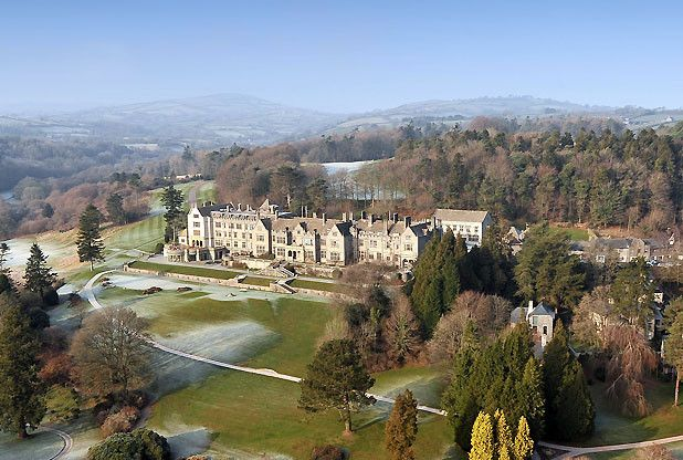 Bovey Castle, near Moretonhampstead on Dartmoor, UK