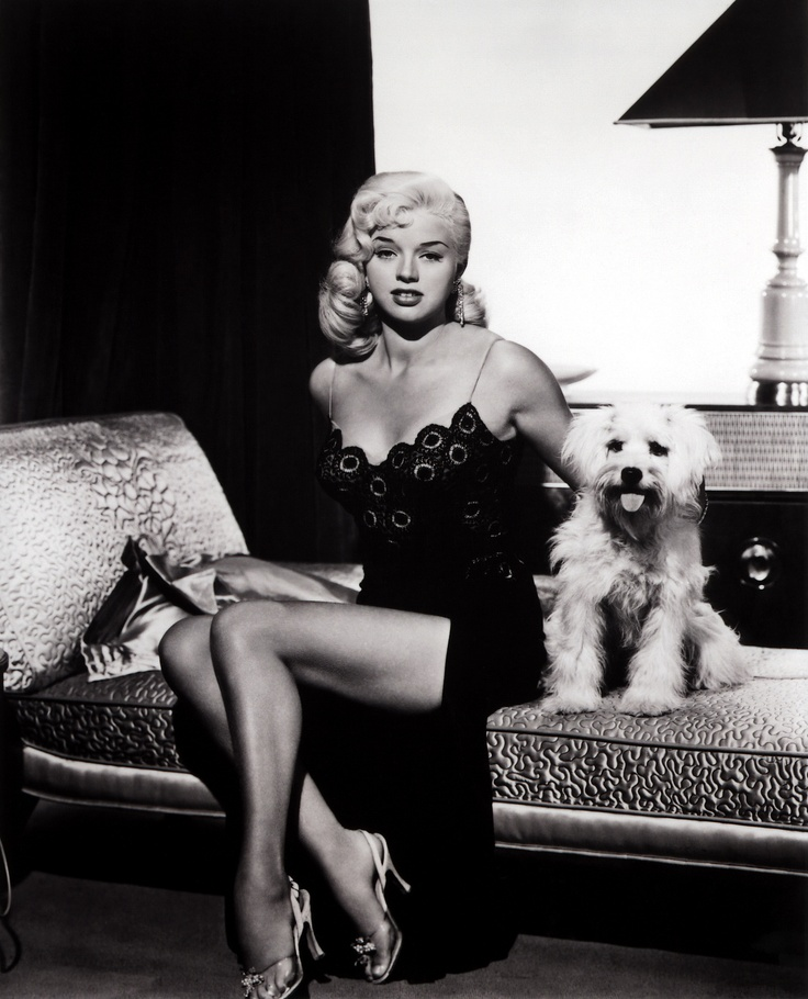 Diana Dors, 1958