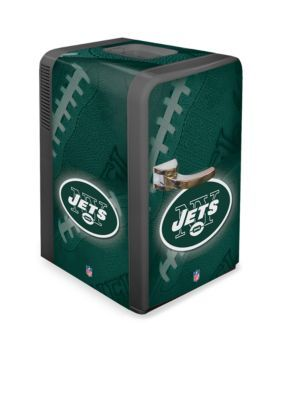 Boelter  Nfl Jets Portable Party Refrigerator - Green - One Size