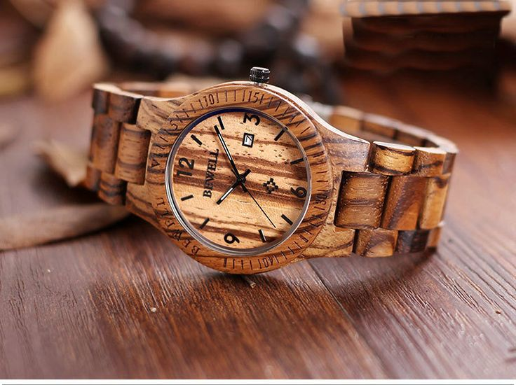 Real wood watches wooden mens watch gift for mens Personalized watch for men Christmas on Storenvy