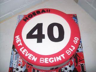 Taartjesgeluk: verjaardag 40 jaar
