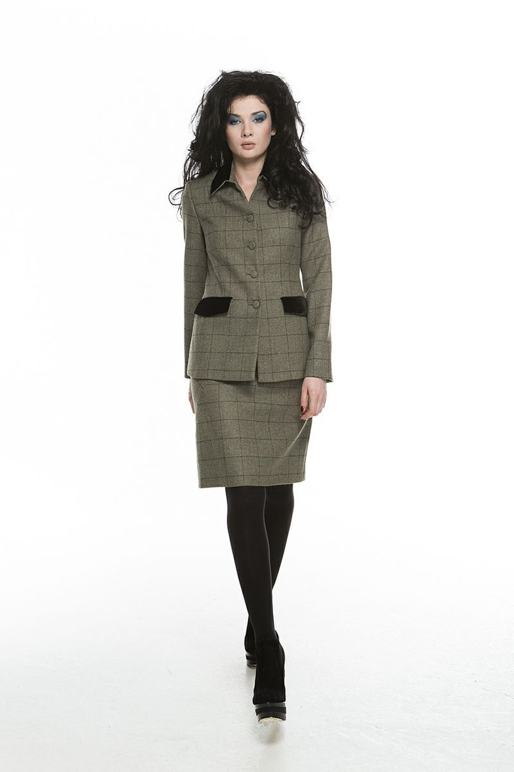 Kelly Jacket, Tanya Skirt