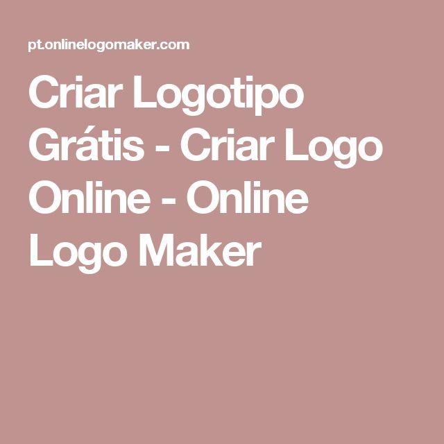 Criar Logotipo Grátis - Criar Logo Online - Online Logo Maker