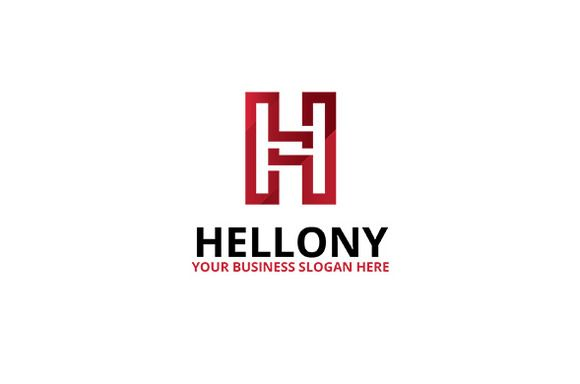 Helony Logo by atsar on Creative Market