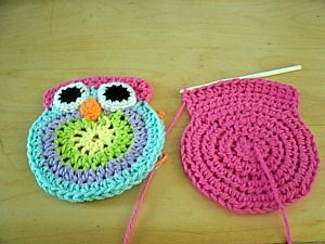 Free Crochet Owl Purse Pattern