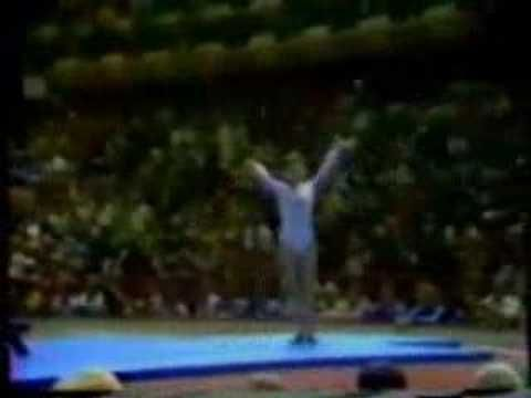 Nadia Comaneci 1976 Olympics - Perfect 10.0 - NO HD here! How did we ever watch TV like that?!
