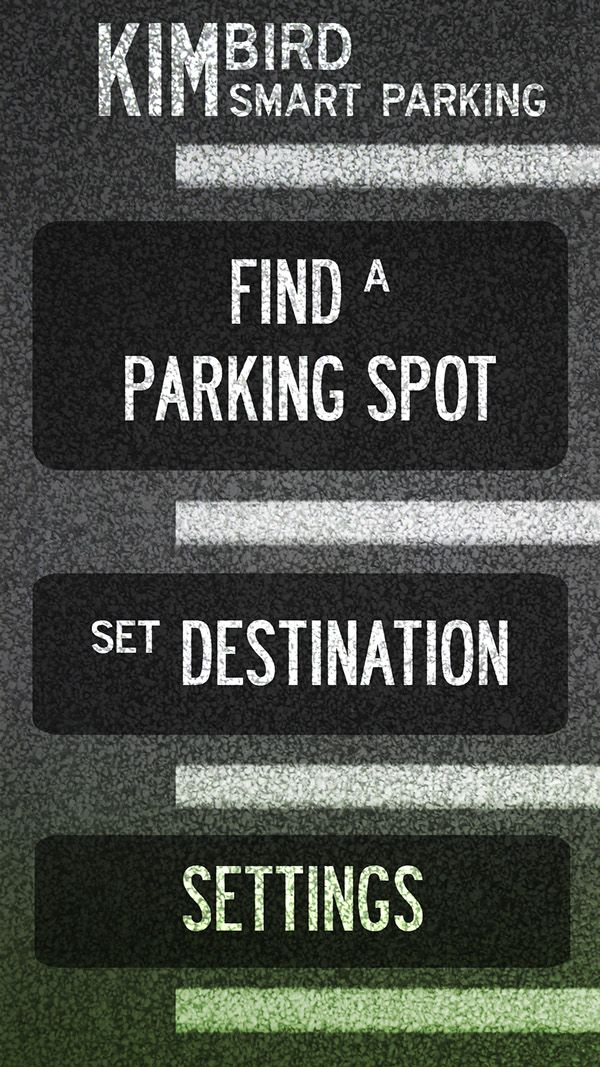 KIMbird Smart Parking on Behance