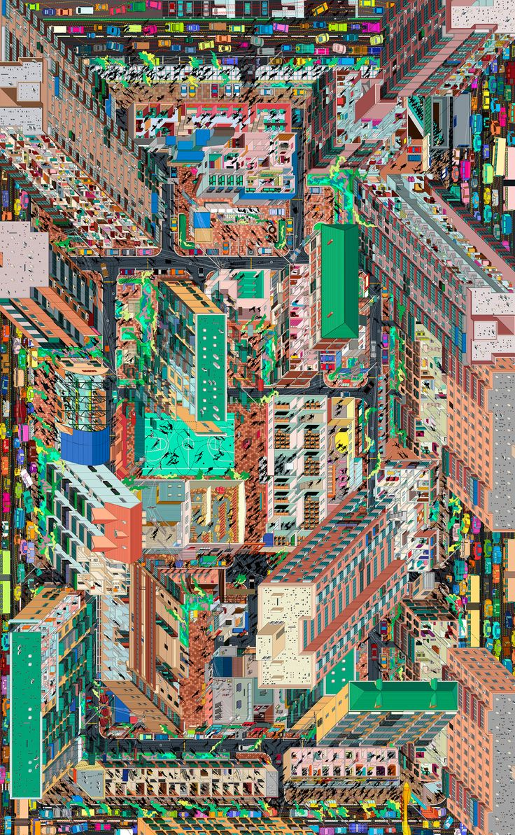 Tuan Jie Hu Panorama Beijing-based Drawing Architecture Studio (DAS) represents a residential district in Beijing in a panoramic drawing with inspiration from Colin Rowe's phenomenal transparency theory. Consistent with the exceptionally detailed signature style of DAS' urban panoramic drawings, Tuan Jie Hu Panorama vividly depicts the views from the daily life in this local community — Tuan Jie Hu. Some 45-degree axes from different directions allow the viewers to constantly change their…