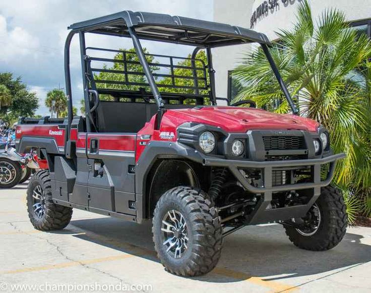 New 2016 Kawasaki Mule Pro-FX EPS LE ATVs For Sale in Florida. 2016 Kawasaki Mule Pro-FX EPS LE, Guaranteed Financing!! Click for details Champions Honda Kawasaki Champions Kawasaki is proud to announce a Guaranteed Credit Approval Program. If you have Good Credit, Bad Credit or No Credit you still qualify for financing. With fast easy approvals your dream ride is just a couple of clicks away. For a fast easy approval call 1-866-226-4150 or click here to fill out an online application! …
