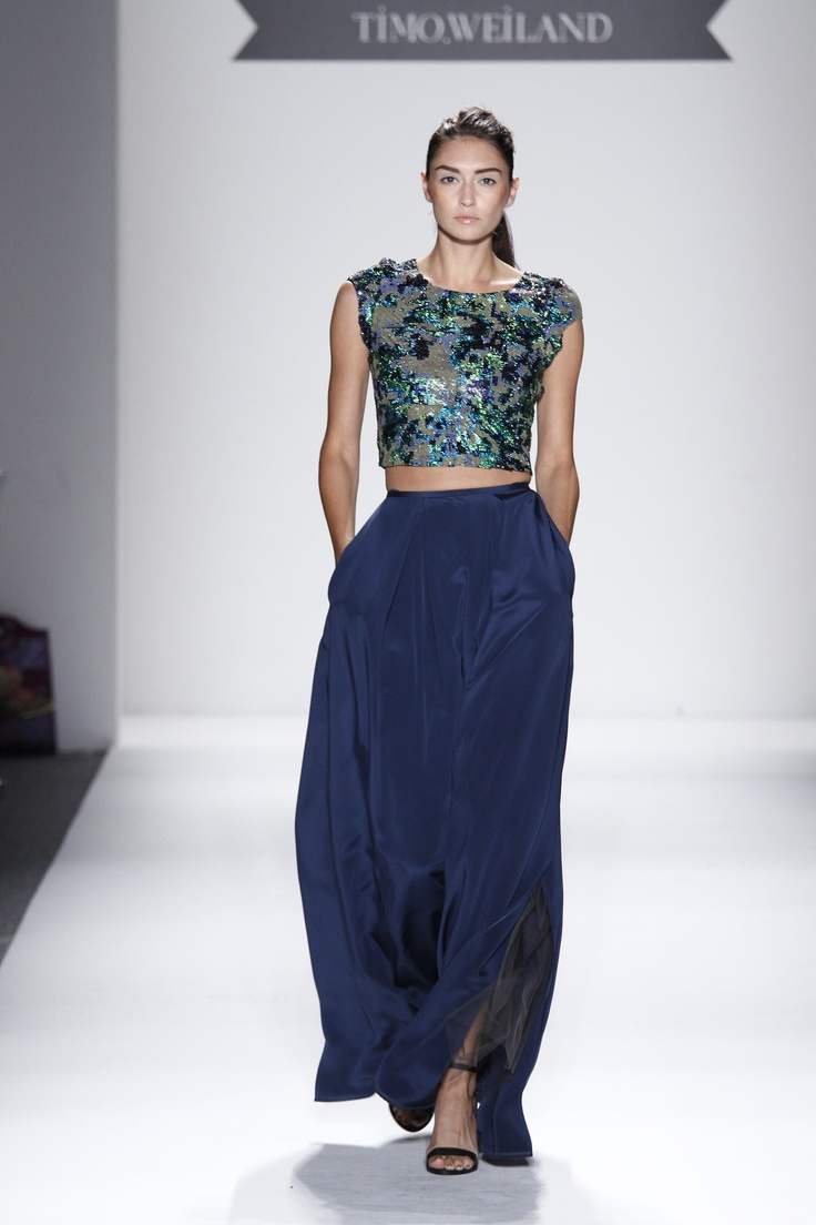 Swarovski Elements Crystals are always a fashion statement with full skirts at Timo SS13, photography by Dan Lecca: Full Skirts, Timo Weiland, Catwalk Sparkle, Elements Crystals, Fashion Statements, Dreams Glamour