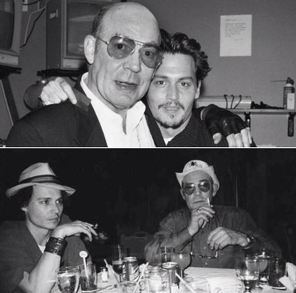 Hunter S Thompson Music Quote: Johnny Depp And Hunter S Thompson