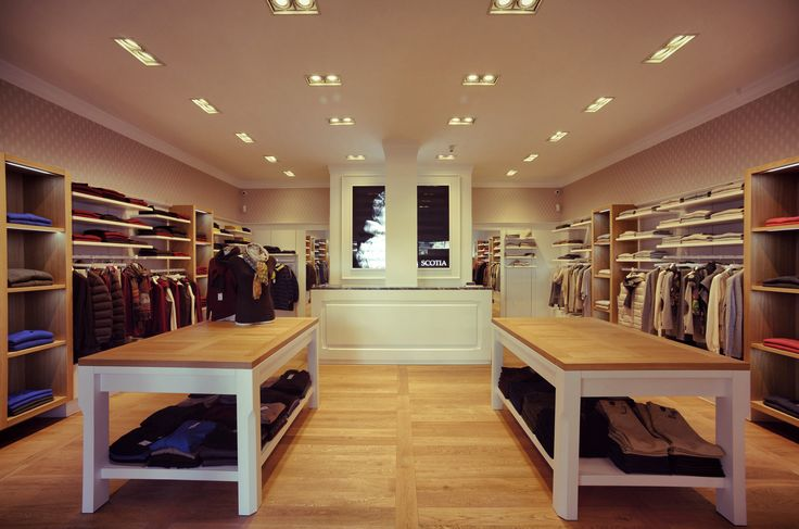 Scotia clothes store interior design umberto menasci - Men s clothing store interior design ideas ...