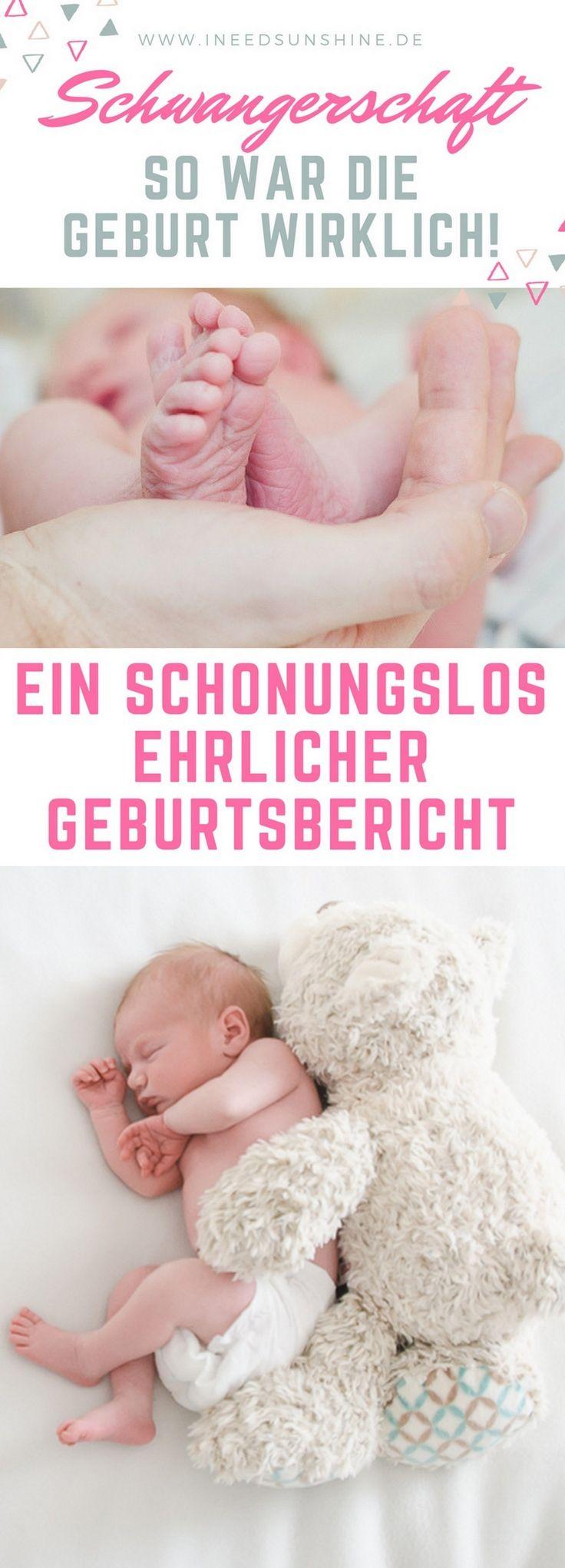 Schwangerschaft und Geburt: Ein Baby kommt und als Schwangere sucht man nach Tipps und Erfahrungen. Wie verläuft die Geburt? Brauche ich eine PDA? Mein schonungslos ehrlicher Geburtsbericht!