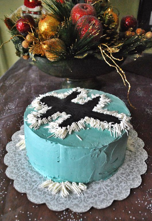 Electrocuted Kitty cake - National Lampoon's Christmas Vacation