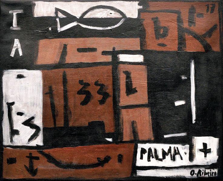 """Oscar Ribeiro """"Port de Palma"""" Acrílico sobre tela 50 X 61 cm. Año 2017"""
