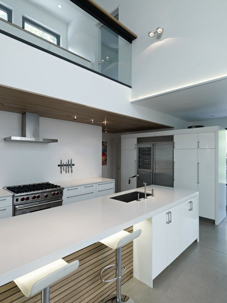 Kitchen: Accessible Modern Residence in Toronto Built to Last for Generations