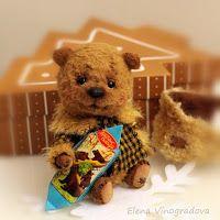 блог Елены Виноградовой о мишках Тедди: зимние малыши и С НОВЫМ ГОДОМ!