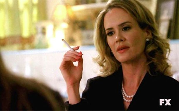 American Horror Story fans will like this news: EW has learned exclusively that AHS all-star Sarah Paulson will reprise her season 1(!) role of psychic Billie Dean Howard in the season finale of AHS: Hotel. Loyal viewers will remember that Bilile Dean was a confidante of Jessica Lange's Constance in the first incarnation of AHS.