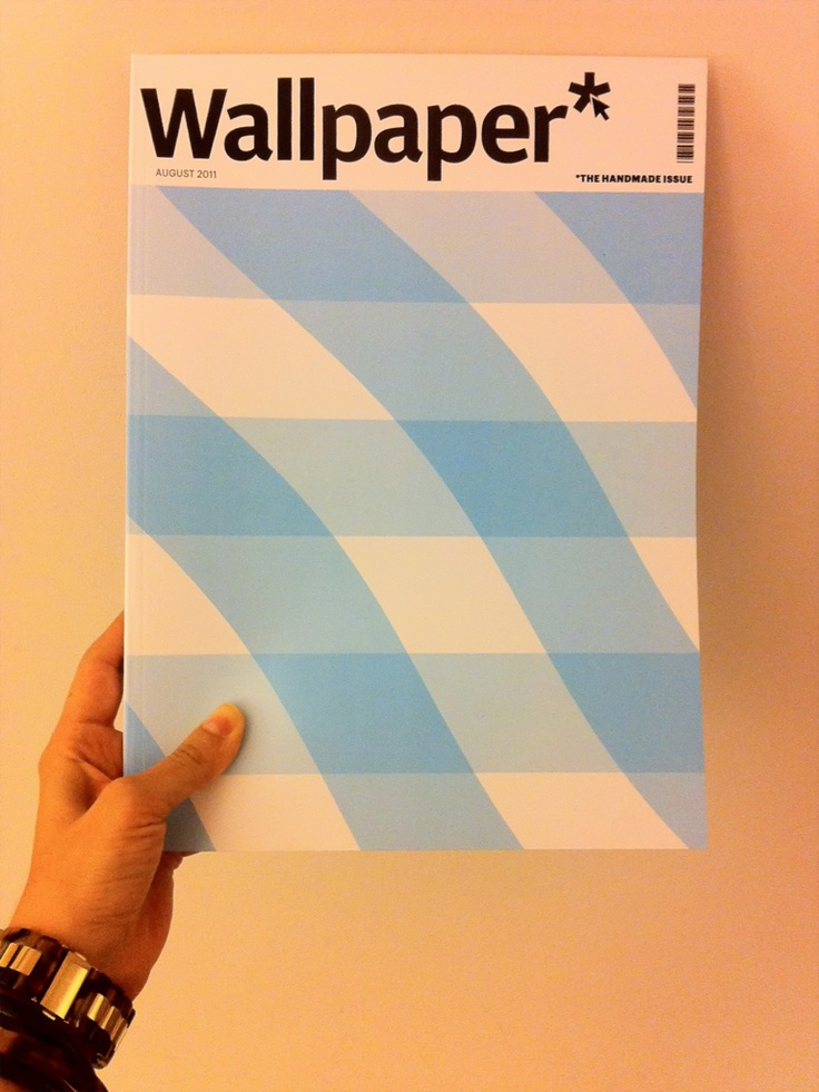 Wallpaper Magazine Cover Colour Pattern