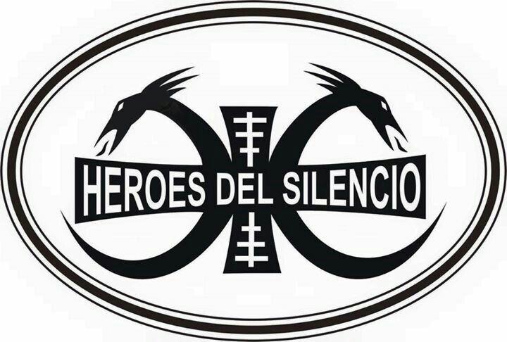 Logo Héroes Heroes Del Silencio Heroe Imagenes De Rock