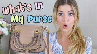 Meghan Rosette - What's in my purse @meghanrosette