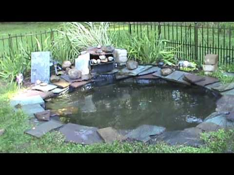 How to install or setup pond net to keep leaves out of for How to install a koi pond