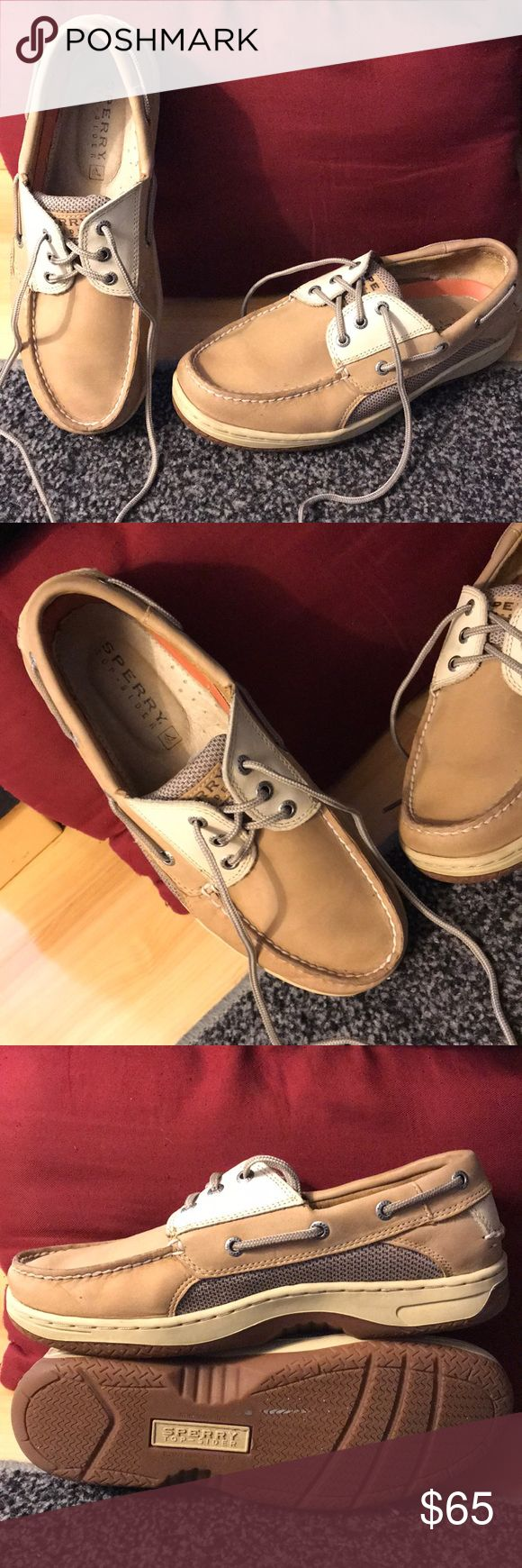 Sperry Top-Sider Sperry Top-Sider. Leather upper, non-marking, contour system. Excellent used condition. Men's. Shoes Boat Shoes