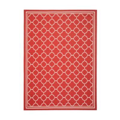 Allover trellis indoor outdoor rug ballard designs for Ballard designs kitchen rugs