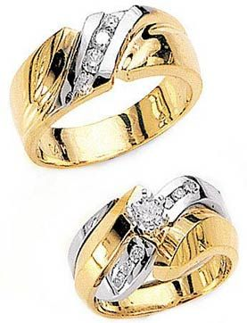 Tone Wedding Rings