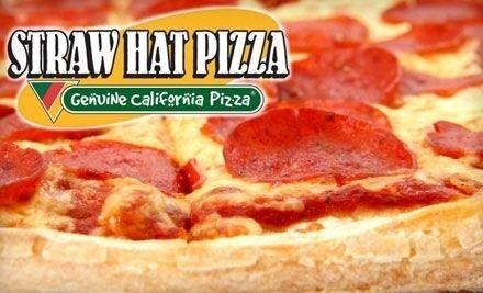 Straw Hat Pizza.