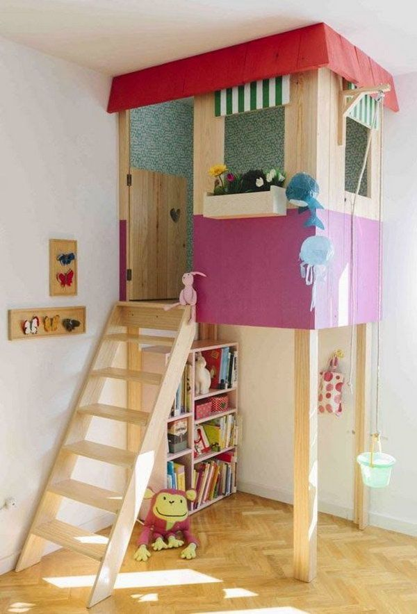 15 Awesome Indoor Playhouses For Kids