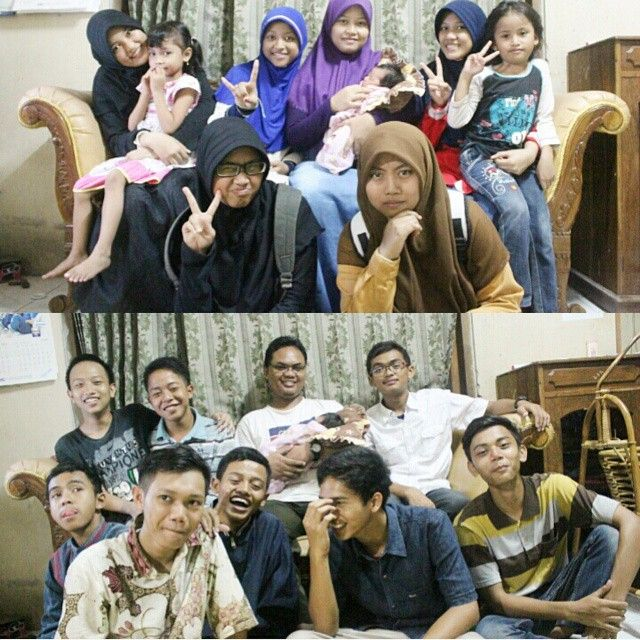 When we visited to Mr.Brian Rahimsyah and we taked a picture together with his family and Forza Miracle