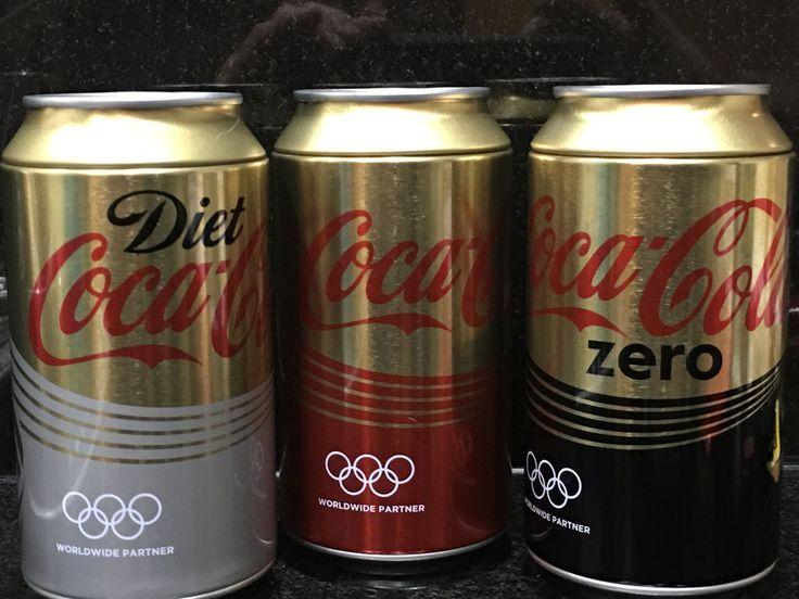 3 x COCA COLA COLLECTABLE 2016 RIO OLYMPIC MONEY TINS - NEW - COKE-DIET- ZERO  | eBay