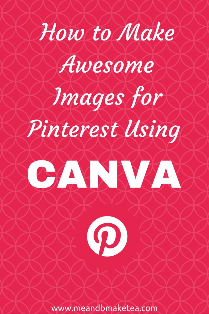 Want some tips on creating pinnable images using Canva? You might be thinking all images can be pinned. And yes, you can pin all images, but to really use Pinterest to drive traffic to your site, you need long, vertical images that are beautiful. Pinteres