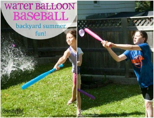 Water Balloon Baseball