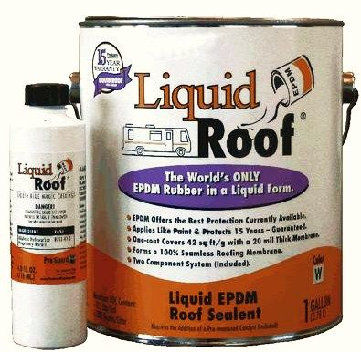 Liquid Roof® A Liquid EPDM Coatings, Manufactured By Pro Guard Coatings.  Made For