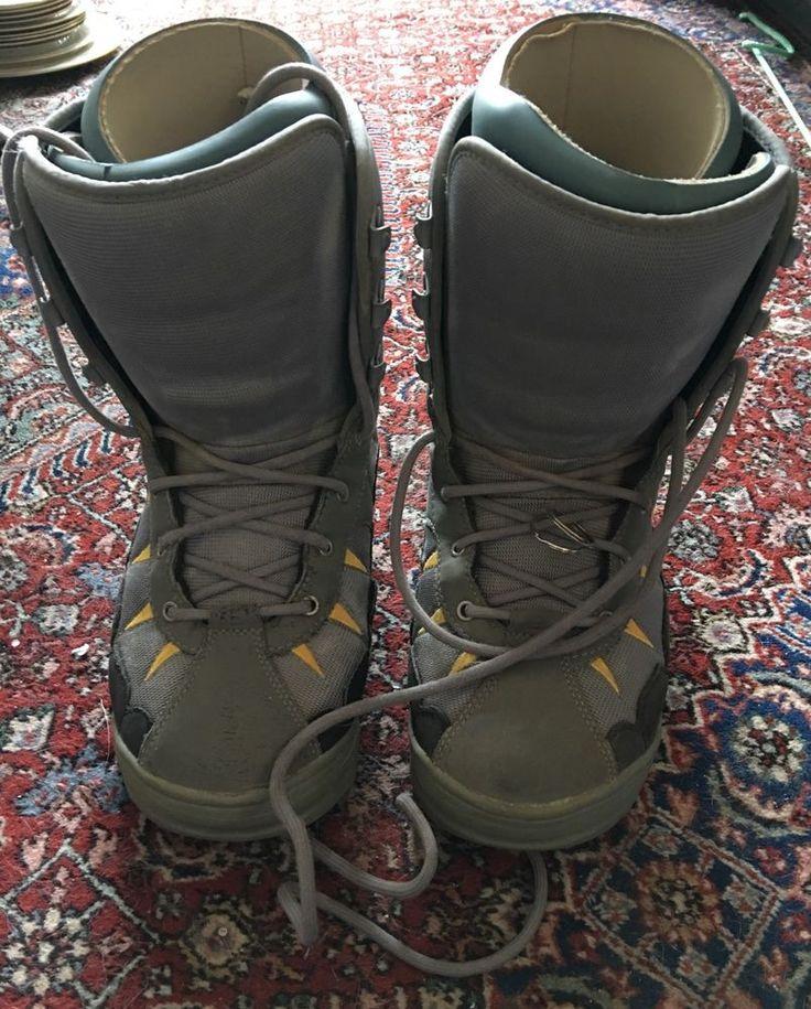 Burton Moto Snowboard Boots Snowboarding Men's Size 10    eBay