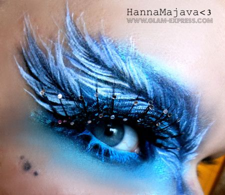 16 Best Progetto Scuola Images On Pinterest Eye Make Up Exotic Bird Makeup Tutorial