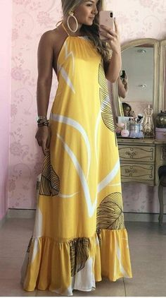 Amarillo – #Amarillo #Outfitsparaplaya #Ropatumblrverano #VestidodeVerano
