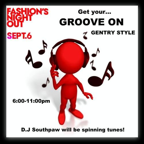 Fashion's Night Out Gentry Style!