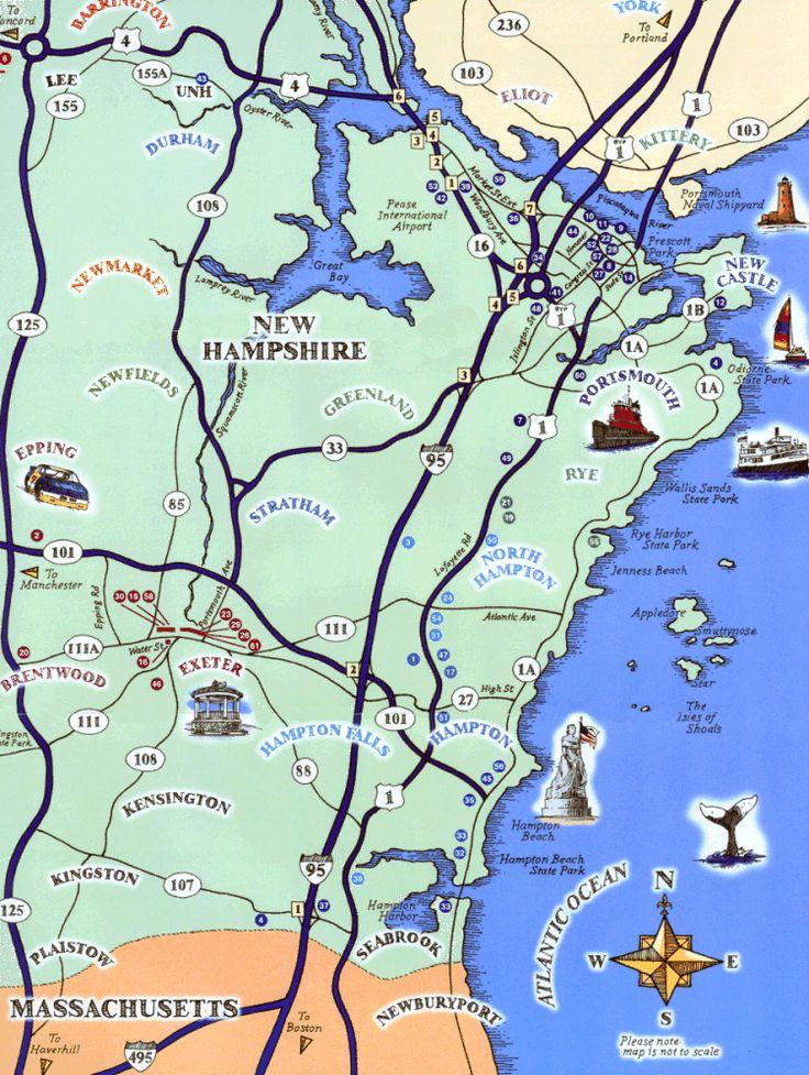 new hampshire coastline USA Pinterest New england news