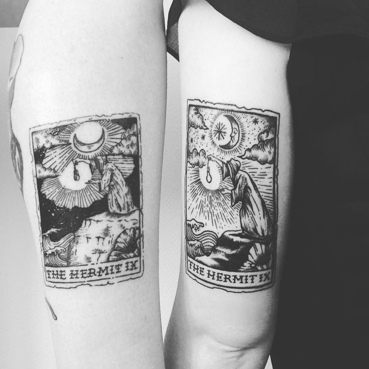 Tarot cards tattoo I really like the look of this, especially the edges, would be great incorporated into patches sleeve