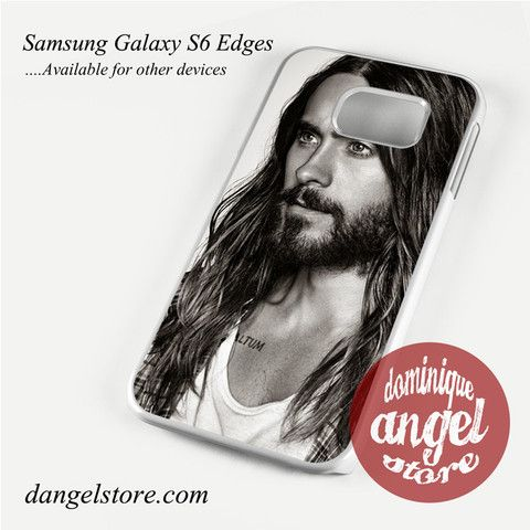 Jared Leto With Beard Phone Case for Samsung Galaxy S3/S4/S5/S6/S6 Edge