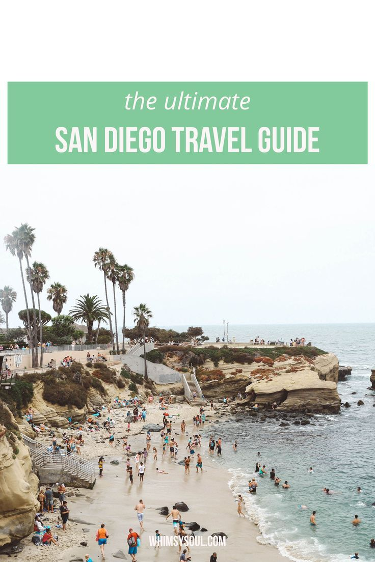Whimsy Soul - San Diego Travel Guide. Everything to do, see and eat in San Diego. Photo of La Jolla Cove.