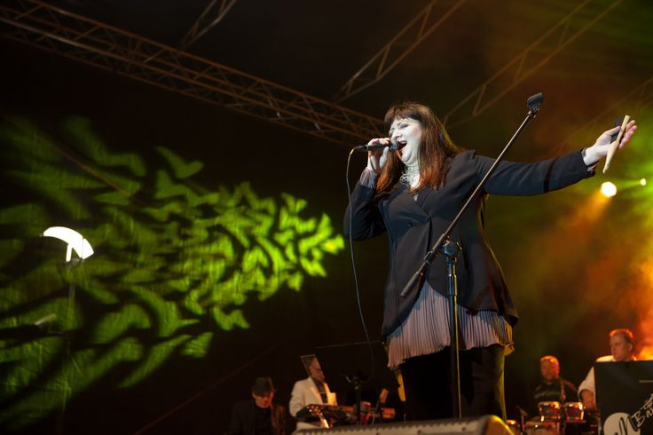 Basia Trzetrzelewska podczas Jazz Art Fashion Festival
